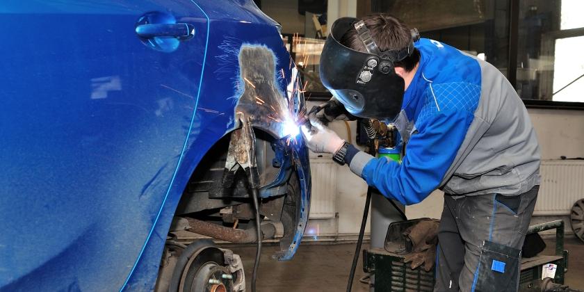 rischi lavoro carrozzeria